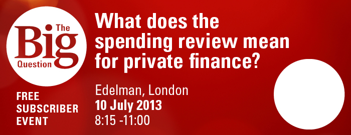 What does the spending review mean for private finance?