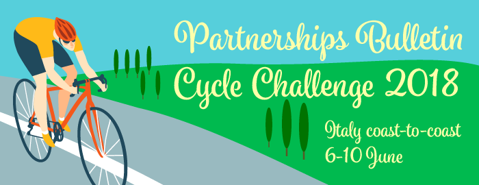 Partnerships Bulletin Cycle Challenge 2018